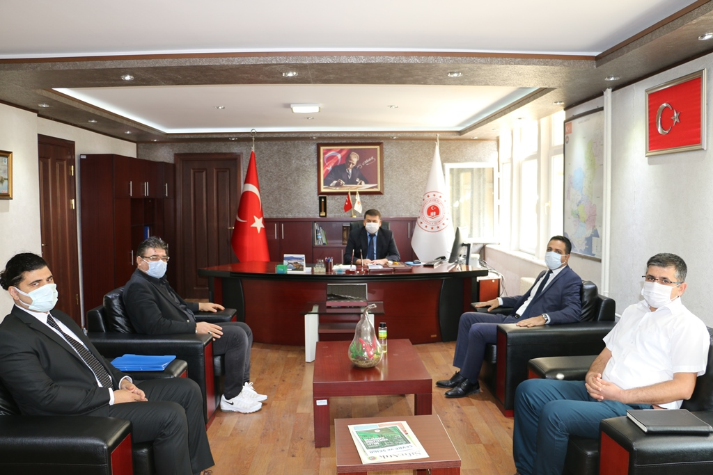 Adana Vergi Dairesi Başkanı Ümit Güner, İl Müdürlüğümüzü ziyaret etti.