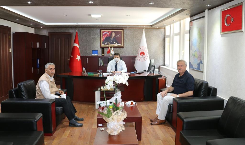 Doğa Koruma ve Milli Parklar 7. Bölge Müdürü Turgut ÇANGIR, İl Müdürlüğümüzü ziyaret etti.