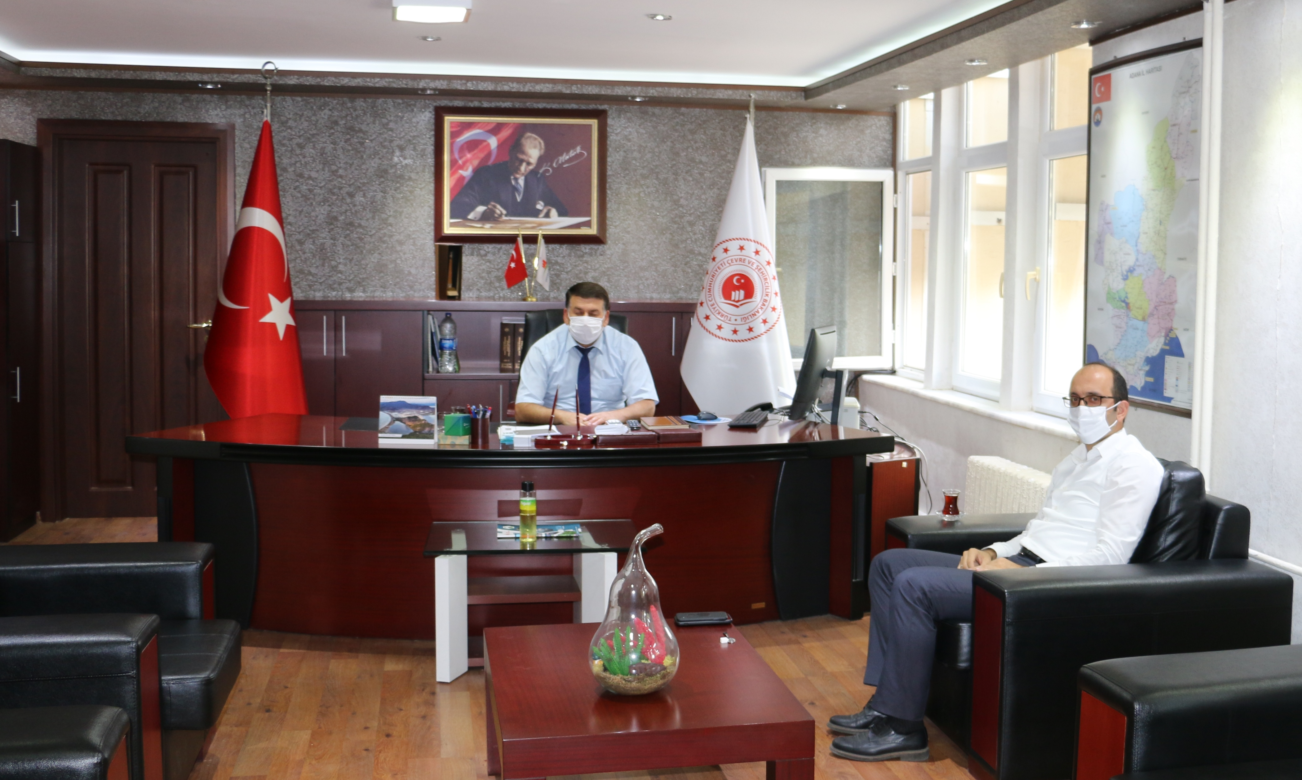 DSİ 6. Bölge Müdürü Mehmet Akif BALTA,  İl Müdürlüğümüzü ziyaret etti.