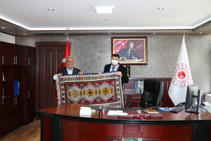 Feke Belediye Başkanı Ahmet SEL  İl Müdürlüğümüzü ziyaret etti.