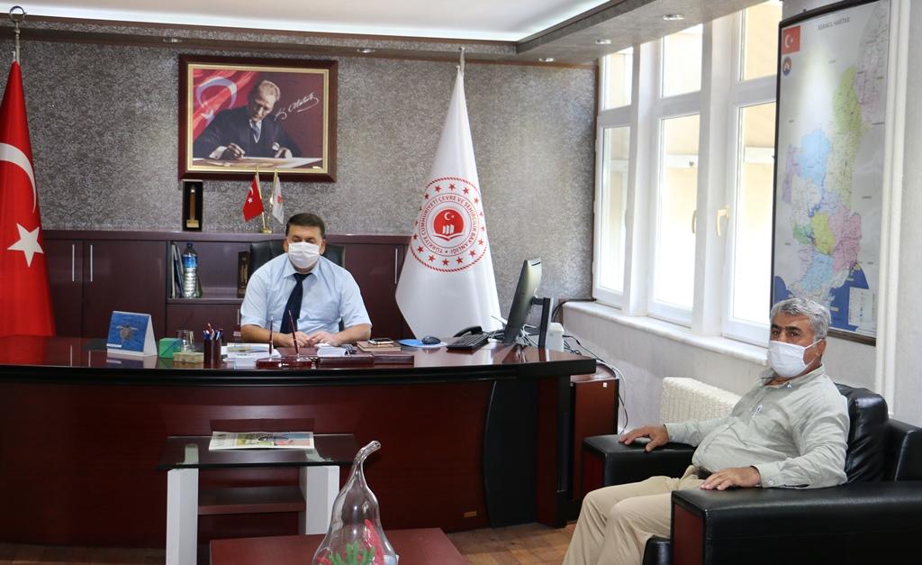 Hatay Çalışma ve  İş Kurumu İl Müdürü Ziya YÜKSEL'den  İl Müdürlüğümüze ziyaret.