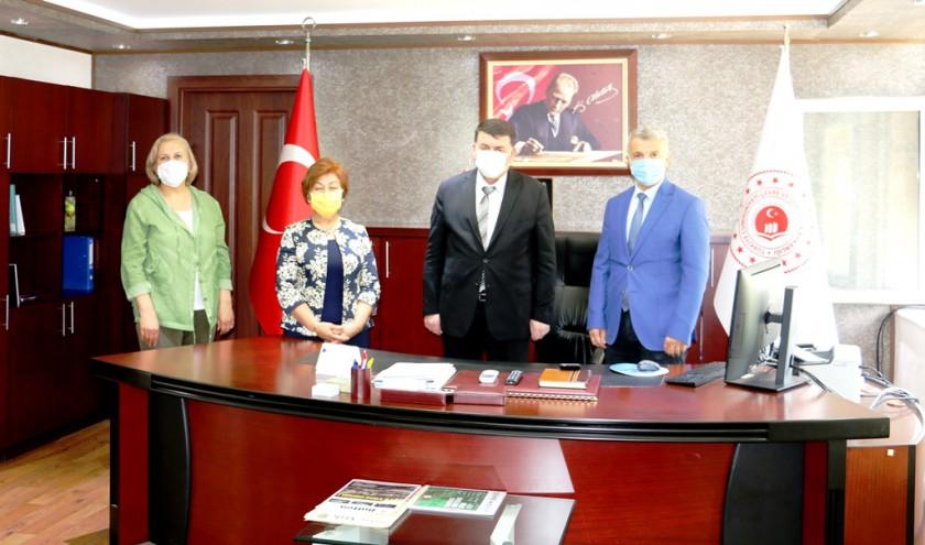 Kadirli Eğitim ve Kültür Vakfı (KAVAK) Adana Şubesinin İl Müdürlüğümüzü Ziyareti.