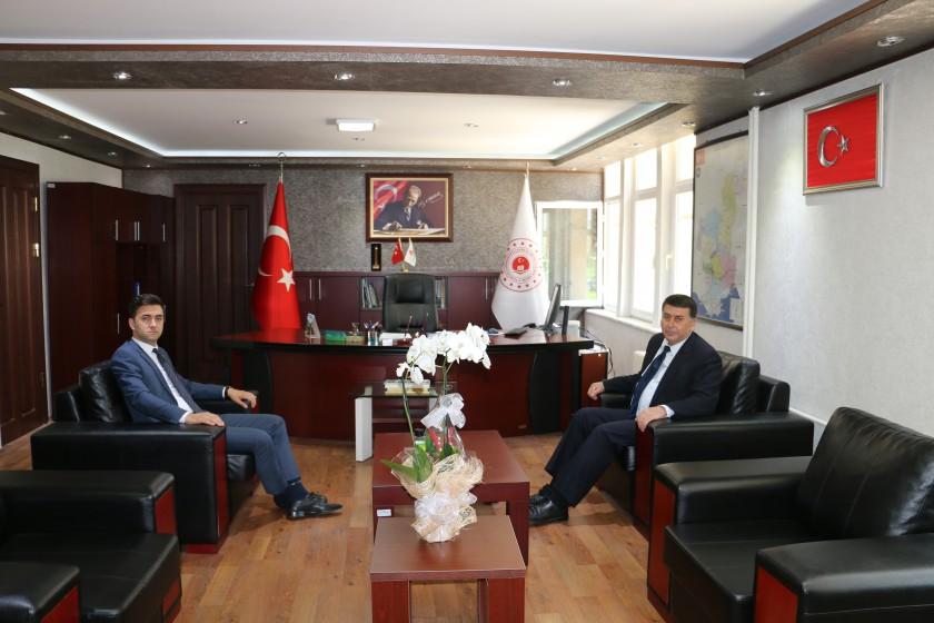 Karaisalı Kaymakamı Mehmet KAYA'dan ziyaret