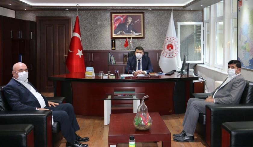 Karaisalı Belediye Başkanı Saadettin ASLAN, İl Müdürlüğümüzü ziyaret etti.