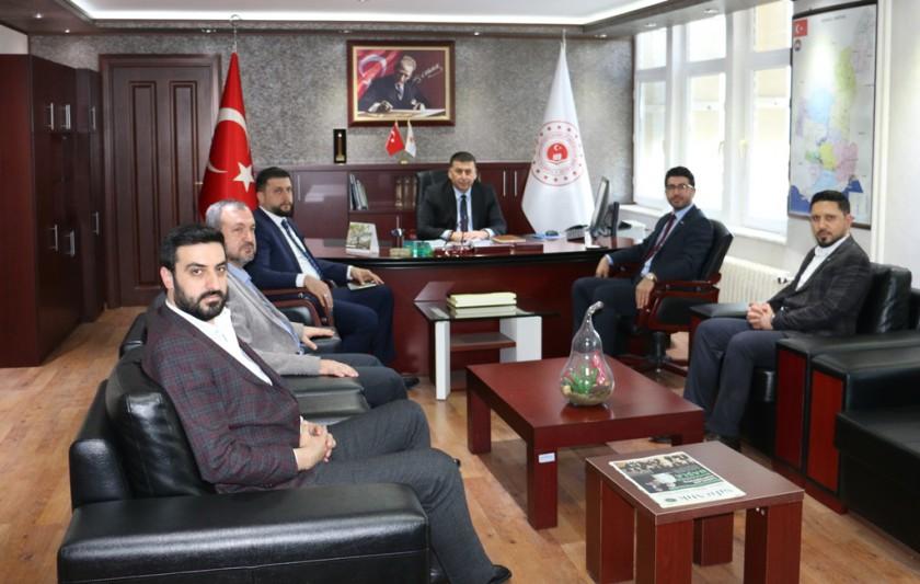 MÜSİAD Adana Şube Başkanı Burhan KAVAK ile yönetim kurulu üyelerinden ziyaret