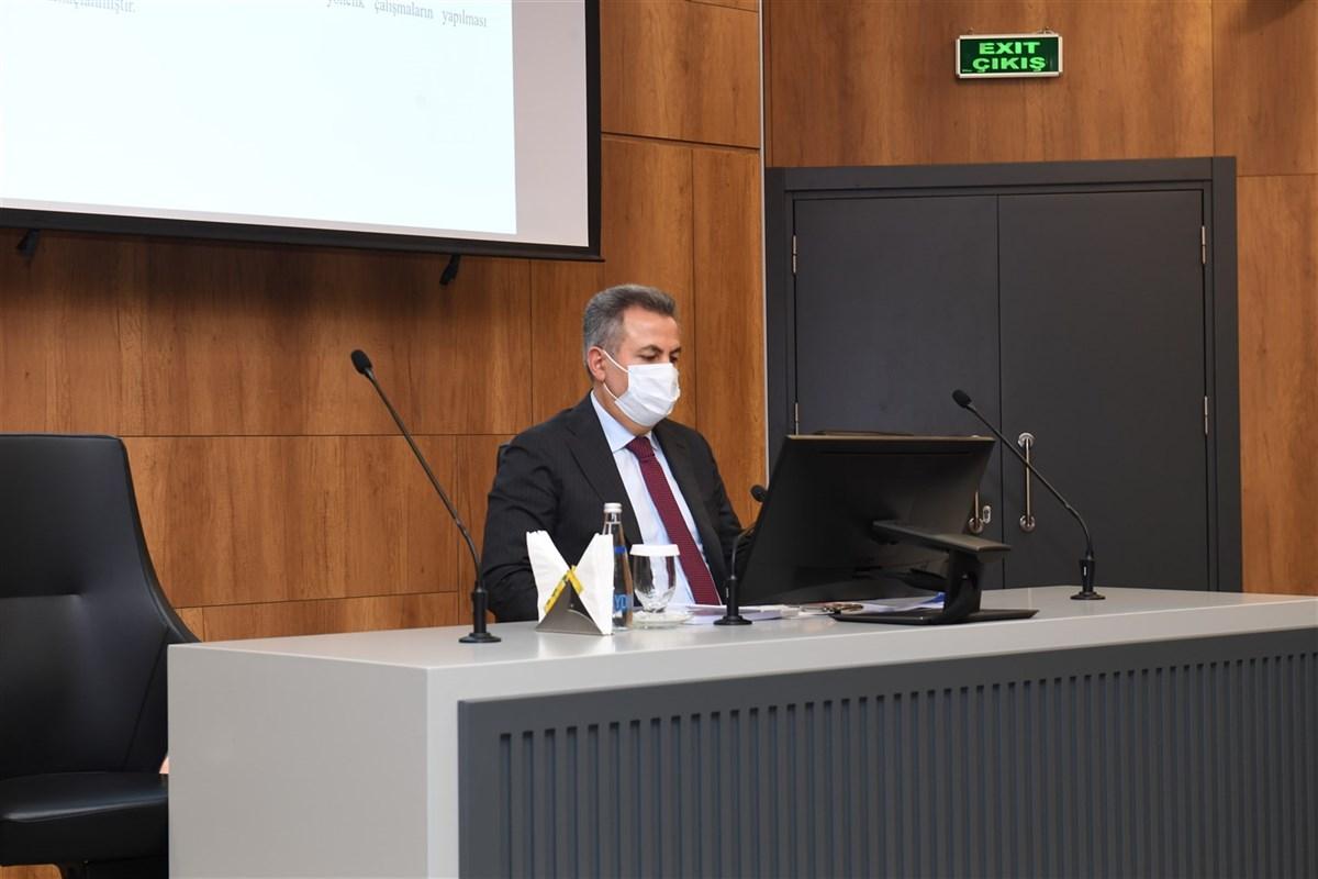 Sayın Valimiz Süleyman ELBAN Başkanlığında Deniz Çöpleri İl Eylem Planı Toplantısı Yapıldı