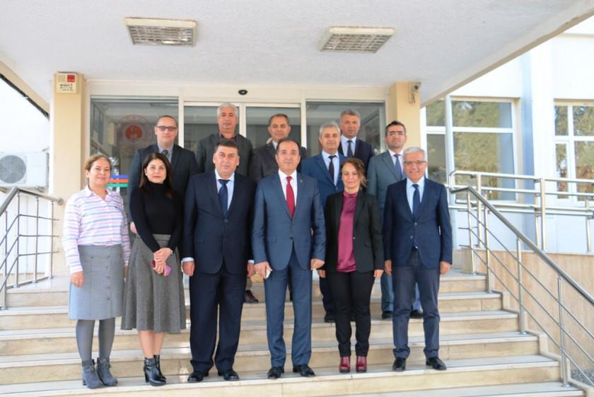 Vali Yardımcımız Sayın Mustafa AYDIN'dan kurumumuza veda ziyareti.