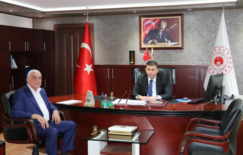 Yumurtalık Belediye Başkanı Türkeş FİLİK'ten ziyaret