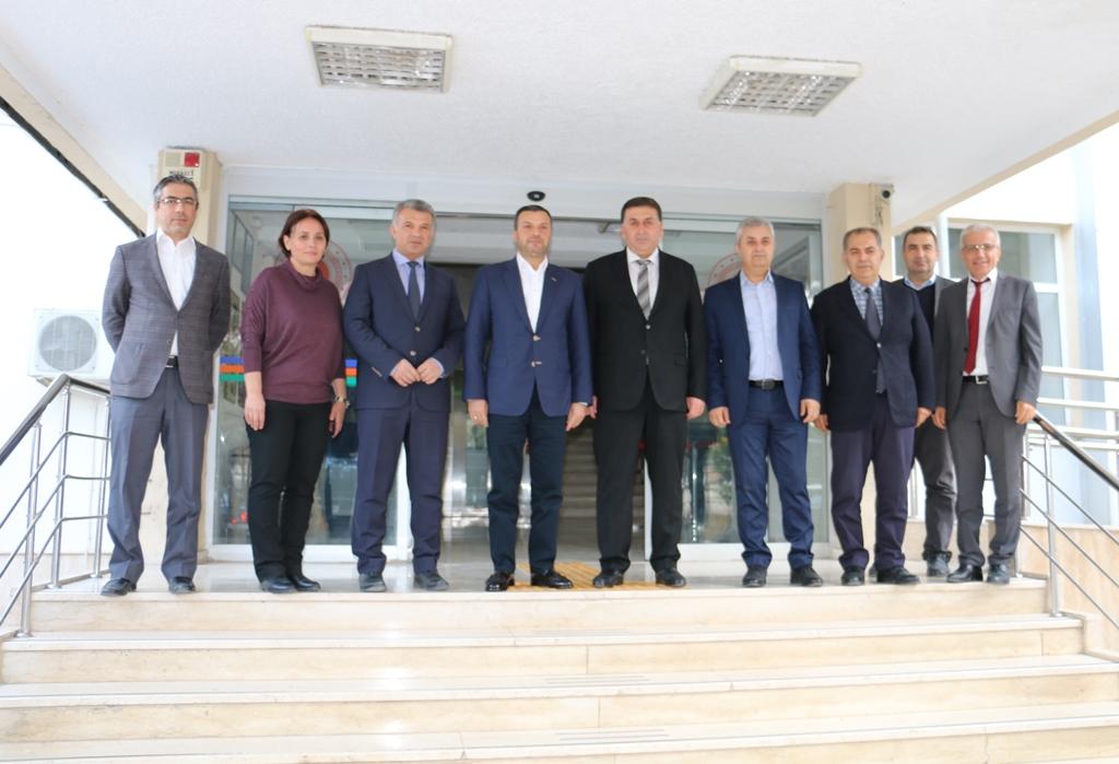 Yüreğir Belediye Başkanı Fatih Mehmet KOCAİSPİR'den hayırlı olsun ziyareti.