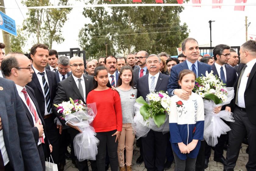 Zeytinli Ortaokulu açılış töreni