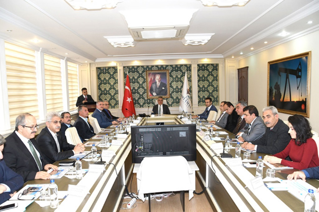 """""""Alt Yapı Çevre ve Şehircilik Platformu"""" Toplantısı Yapıldı"""