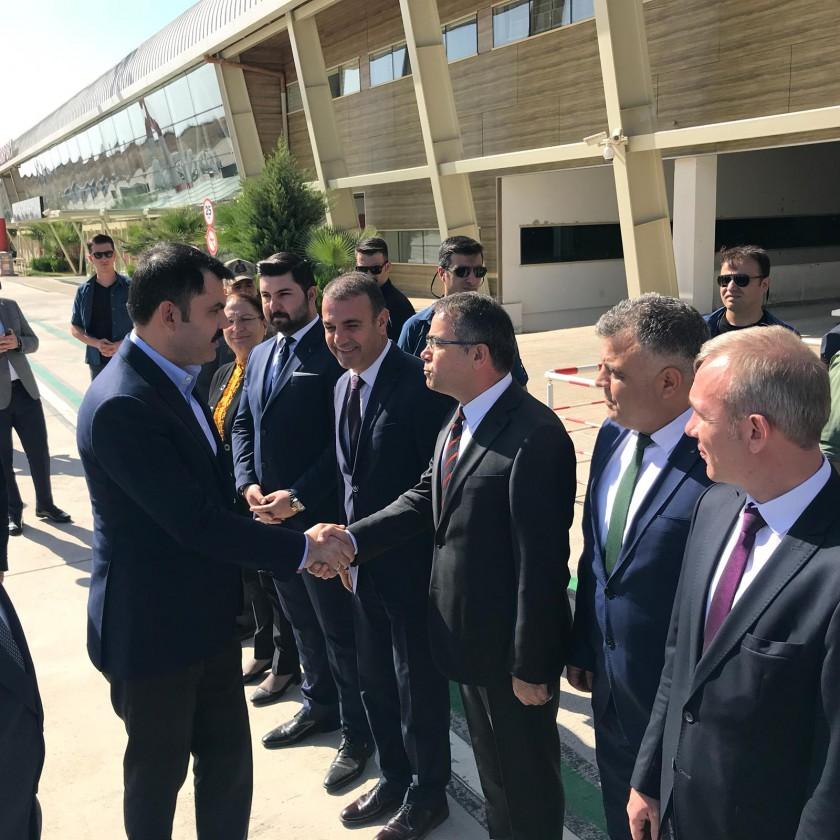 Sayın Bakanımız Murat KURUM İlimizi ziyaret etti