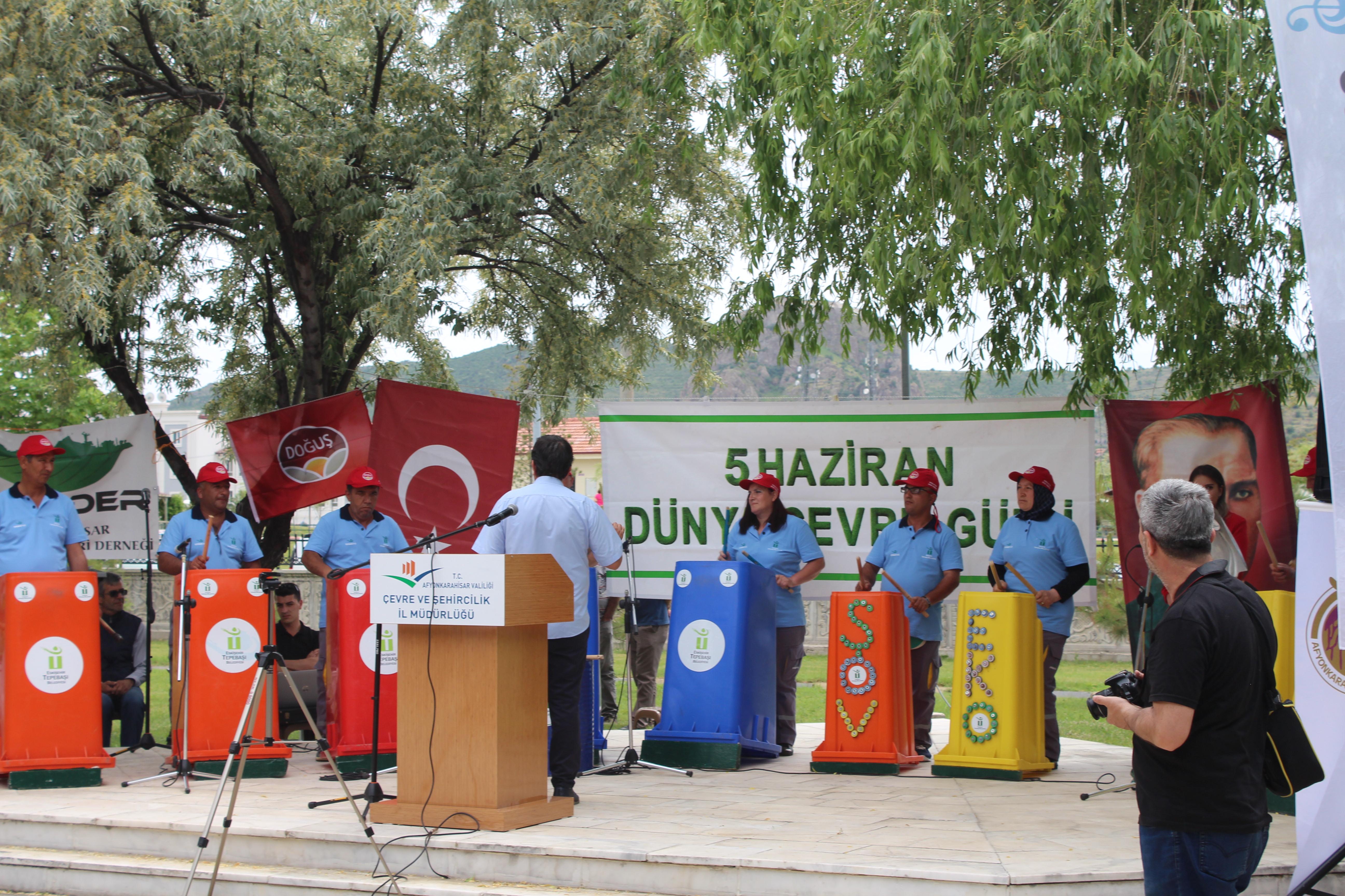 5 Haziran Dünya Çevre Günü İlimizde çeşitli etkinliklerle kutlandı.