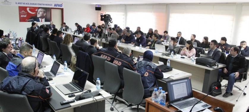 Afyonkarahisar - Yerel Seviye Saha Uzantılı Masabaşı Tatbikatı