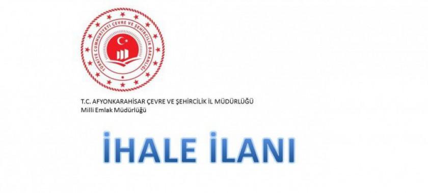 Afyonkarahisar Milli Emlak Müdürlüğü 49 Yıl Süreli Taşınmaz Bağımsız ve Sürekli Nitelikte İrtifak Hakkı İhale İlanı