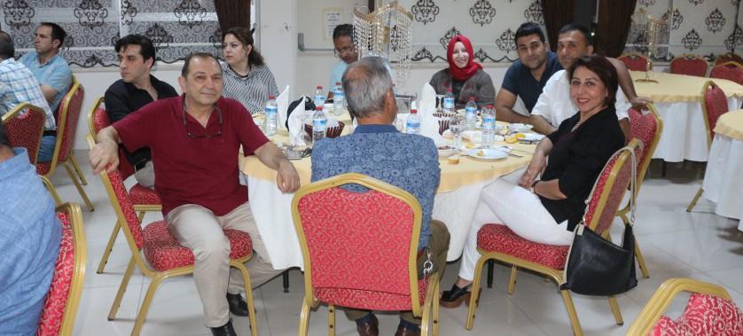 Emekliye ayrılacak olan İl Müdürümüz H.Vahit OKUMUŞER için veda yemeği düzenlendi.