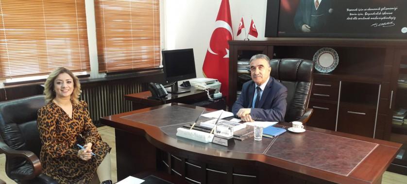 """İl Müdürümüz Kanal3 TV'de yayınlanan """"Kamudan"""" programının konuğu oldu."""