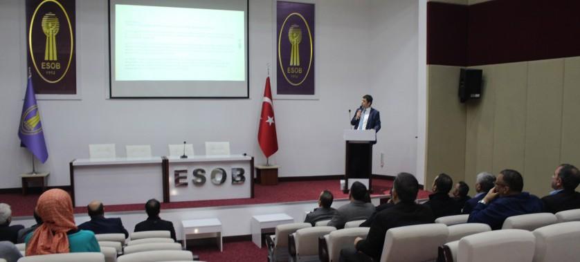 """""""Plastik Poşetlerin Ücretlendirilmesine İlişkin Usul ve Esaslar"""" Hakkında Bilgilendirme Toplantısı (ESOB)"""