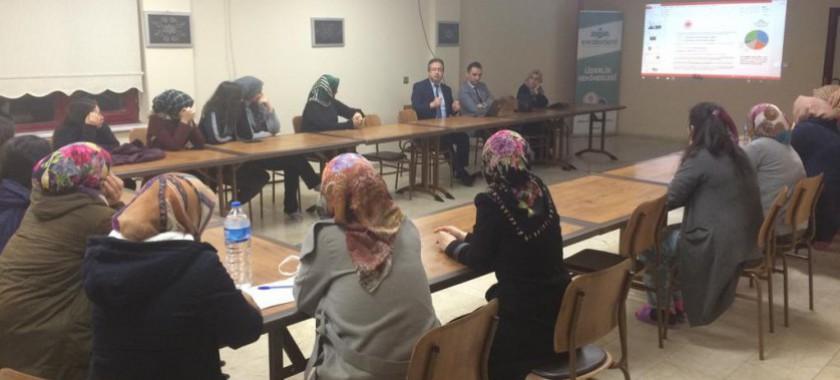 """Safiye Sultan Kız Öğrenci Yurdunda """"Enerji Verimliliği"""" Konulu Eğitim"""
