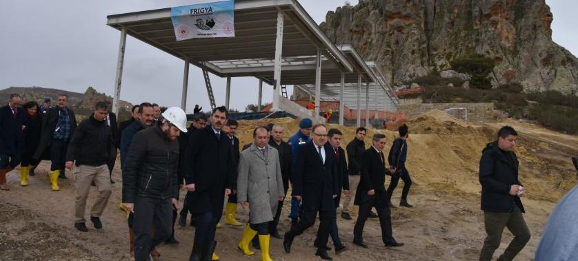 Sayın Bakanımız Murat KURUM İlimizde İnceleme Ziyaretlerinde Bulundu.