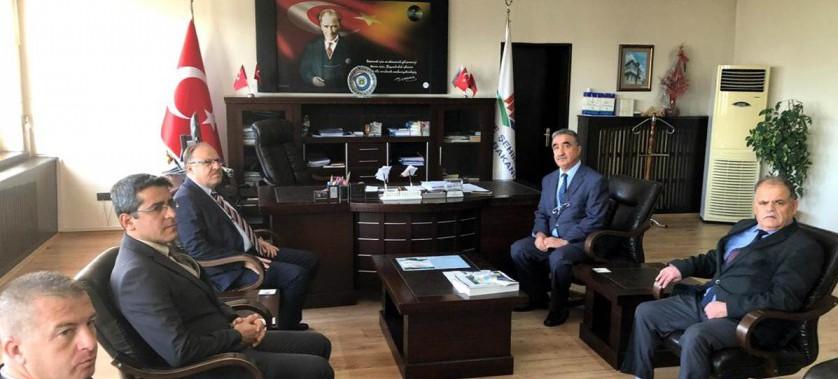 Sayın Valimiz Mustafa TUTULMAZ İl Müdürlüğümüzü Ziyaret Etti.