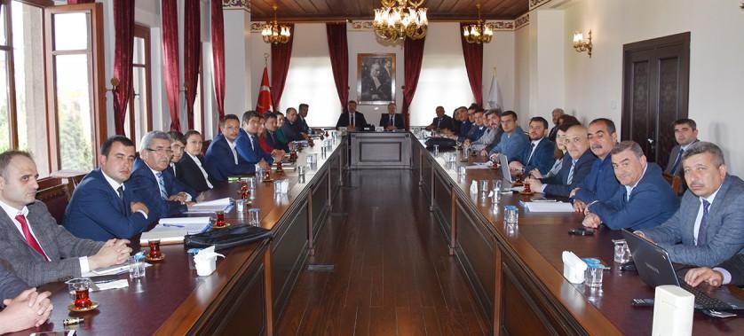 Sayın Valimizin Başkanlığında Yapılan Toplantıda Biyogaz Sektörünün Sorunları Ele Alındı.