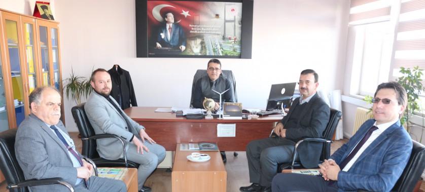 Sultandağı Belediye Başkanı Mehmet ALDIRMAZ İl Müdürlüğümüzü ziyaret etti.
