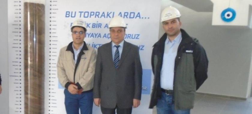 Brisa Aksaray Lastik ÜretimTesisi Ziyareti