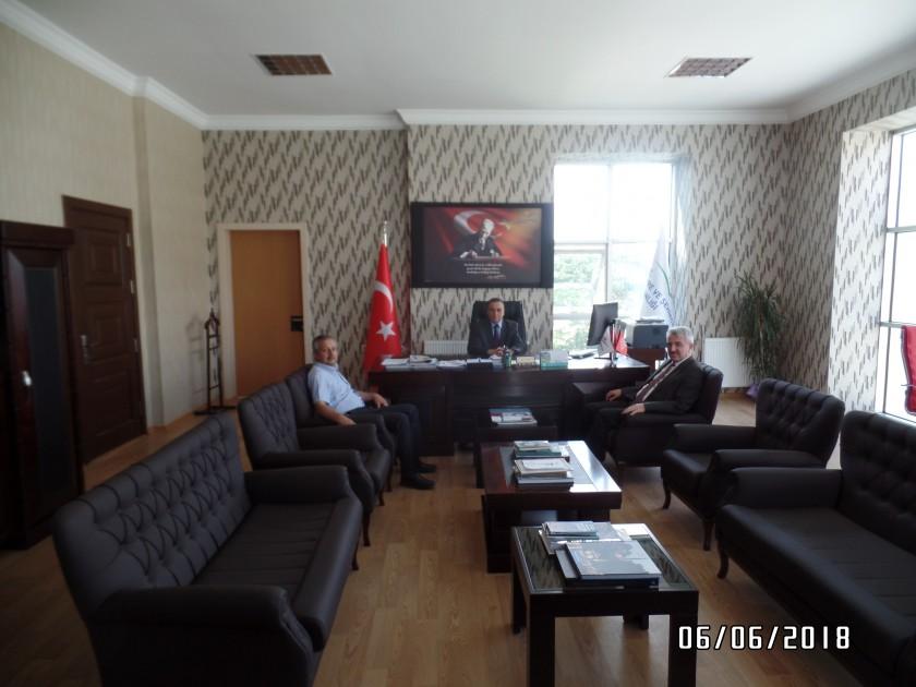 İller Bankası Konya Bölge Müdürü Yüksel Demirci'nin ziyareti