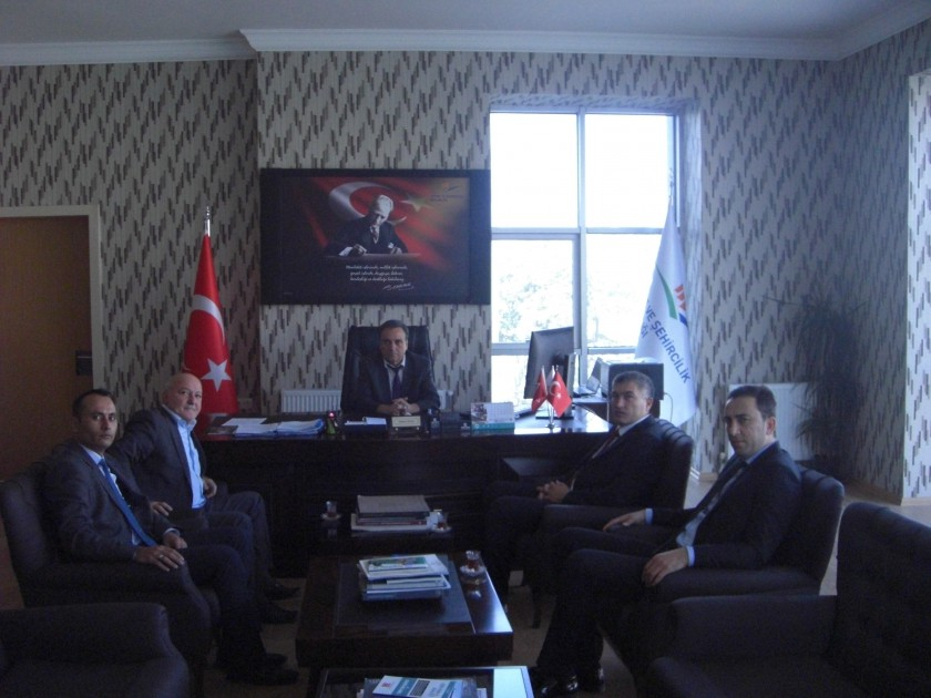 Milli Emlak Daire Başkanı İbrahim ATAK'ın Ziyareti