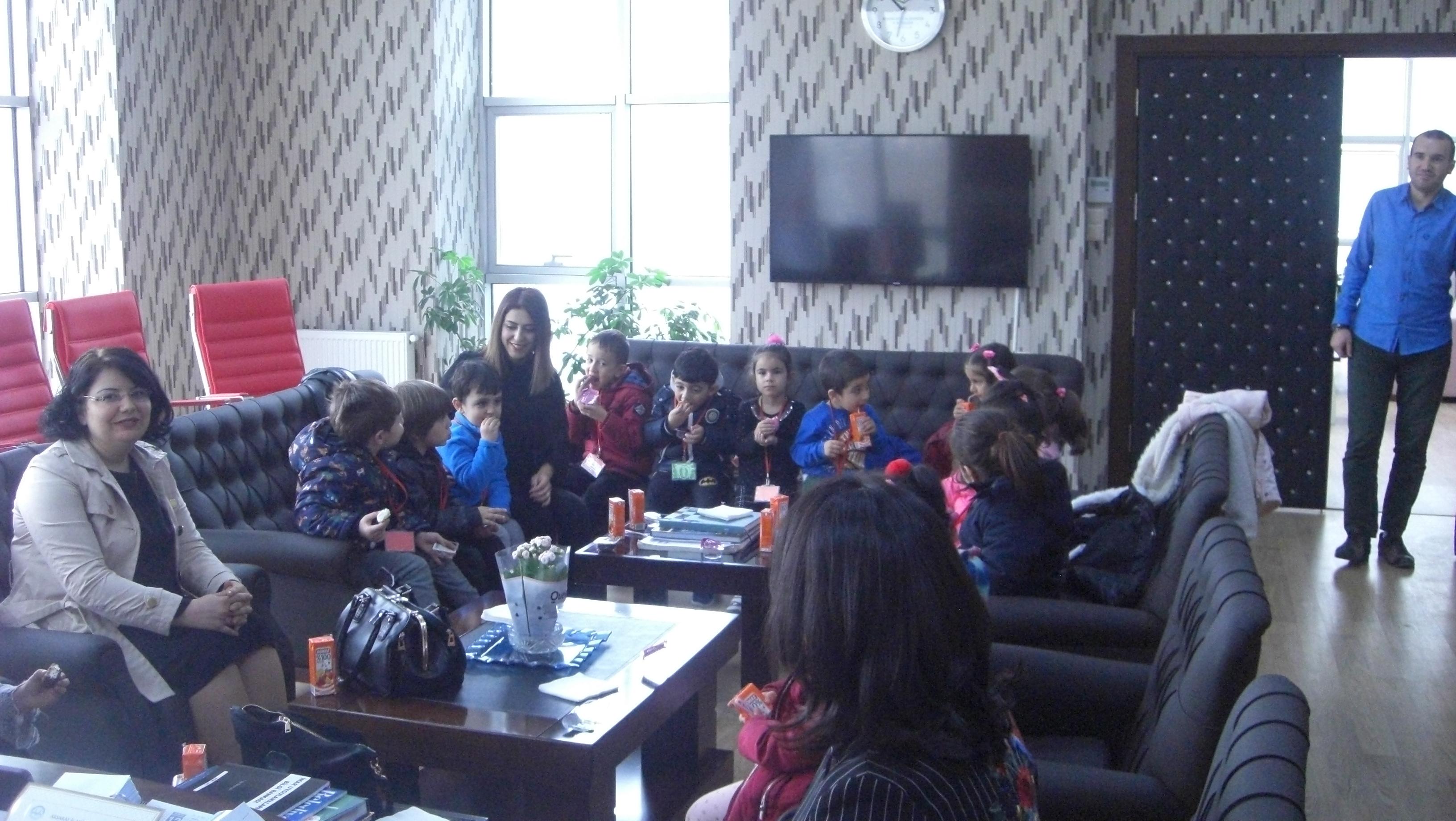 Nene Hatun Ana Okulunun Ziyareti