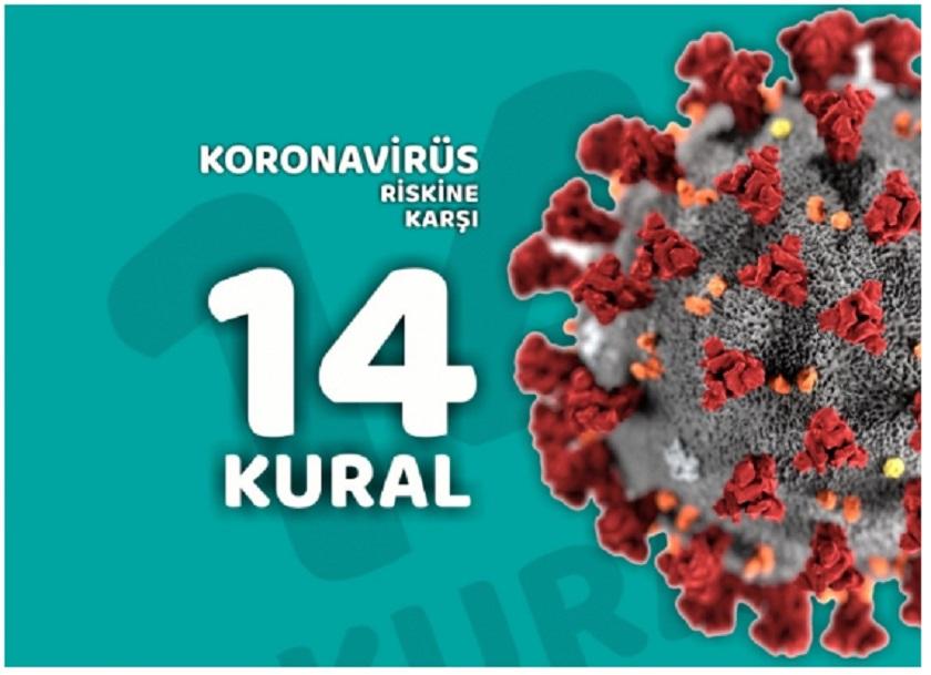 Yeni Koronavirüs (COVID-19) için alınması gereken önlemler