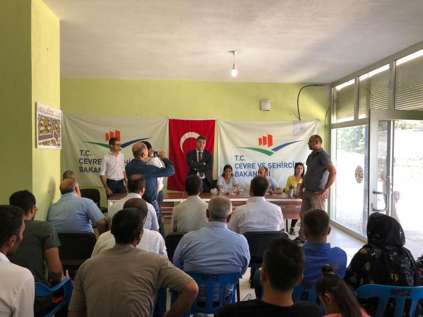 Cizre'de Bakanlığımızca Yapımı Tamamlanan 56 Adet Konutun Kura Çekimi Gerçekleştirildi.