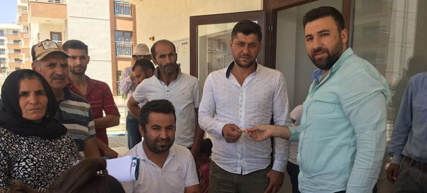 İdil'de Bakanlığımızca Yapımı Tamamlanan 216 Adet Konutun Hak Sahiplerine Teslimleri Gerçekleştiriliyor.