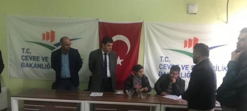 İdil ve Cizre'de Bakanlığımızca Yapımı Tamamlanan 120 Adet Konutun Kura Çekimi Gerçekleştirildi.