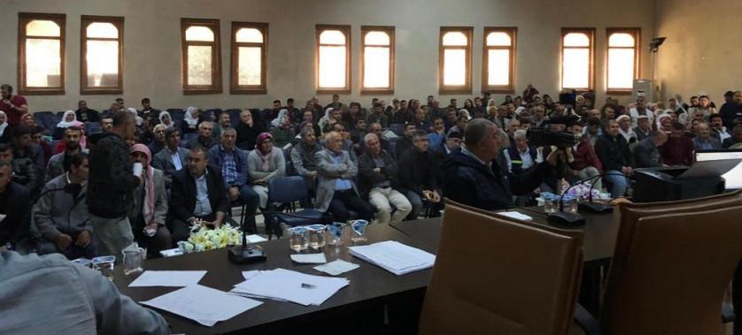 Mardin İli, Nusaybin İlçesi Proje Alanında Kura Çekimleri Tamamlandı