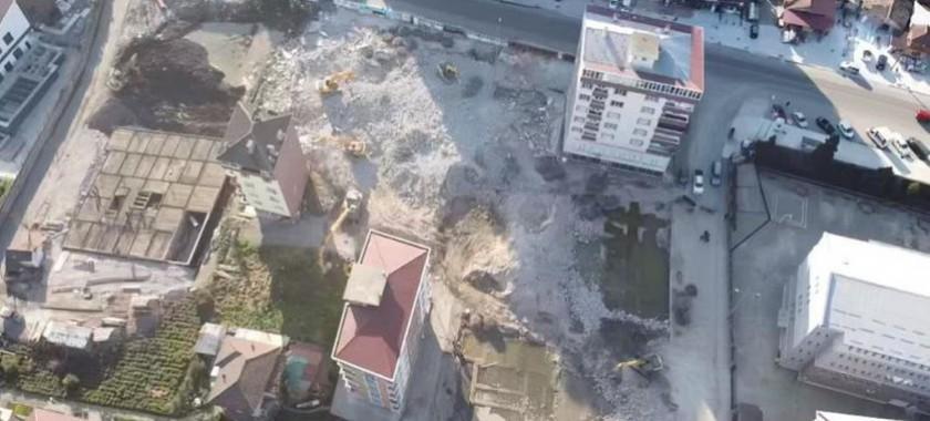 Merkez İlçe Taşlıdere-Tophane Mahallesinde Çökme Riski Bulunan Yapıların Bulunduğu Alana Yönelik Çalışmalar