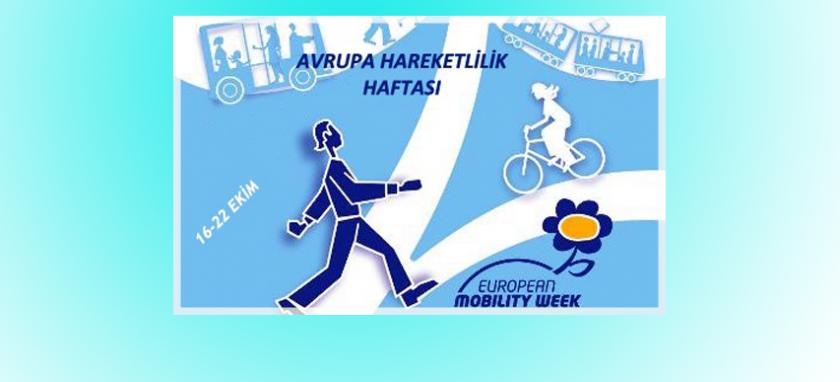 16-22 Eylül Avrupa  Hareketlilik Haftası