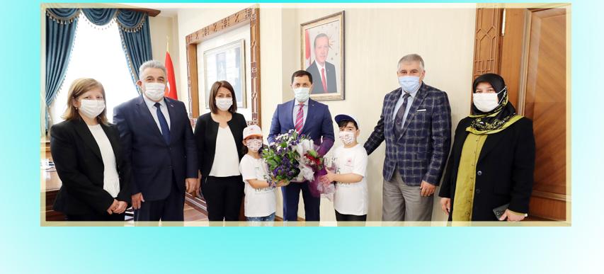 5 Haziran Dünya Çevre Günü Etkinlik Kapsamında, Valimiz Sayın Mustafa MASATLI' ya Ziyarette Bulunuldu.