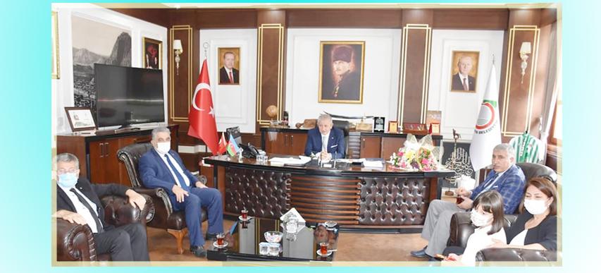5 Haziran Dünya Çevre Günü Etkinlik Kapsamında, Belediye Başkanımız Sayın Mehmet SARI' ya Ziyarette…