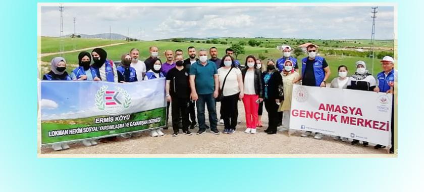 5 Haziran Dünya Çevre Günü Etkinlik Kapsamında, Lokman Hekimde Doğa Temizliği Yapıldı.