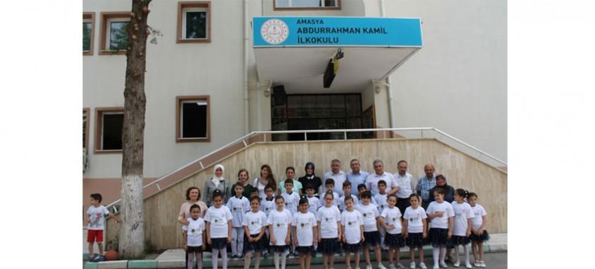 """Abdurrahman Kamil İlkokulu 3/A Sınıfı Öğretmeni Meral KAYA'nın   Yıl Boyunca """"Sıfır Atık"""" Temalı Çalışmaları Sergilendi."""