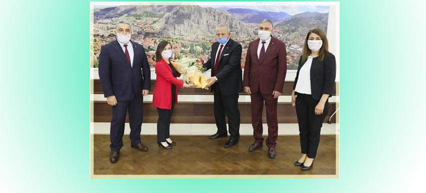 Çevre Günü ve Belediye Başkanımız Mehmet SARI Ziyaret.