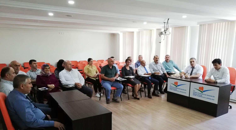 Genel Teftiş Sonu Bilgilendirme Toplantısı Yapıldı.