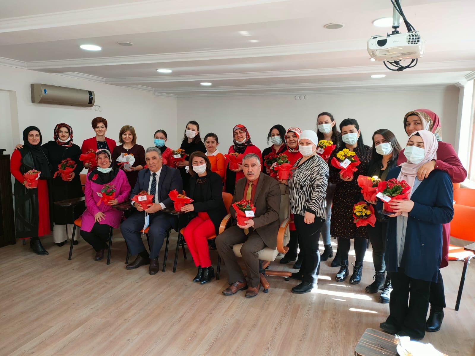İl Müdürlüğümüzde 08 Mart Dünya Kadınlar Günü Kutlandı.