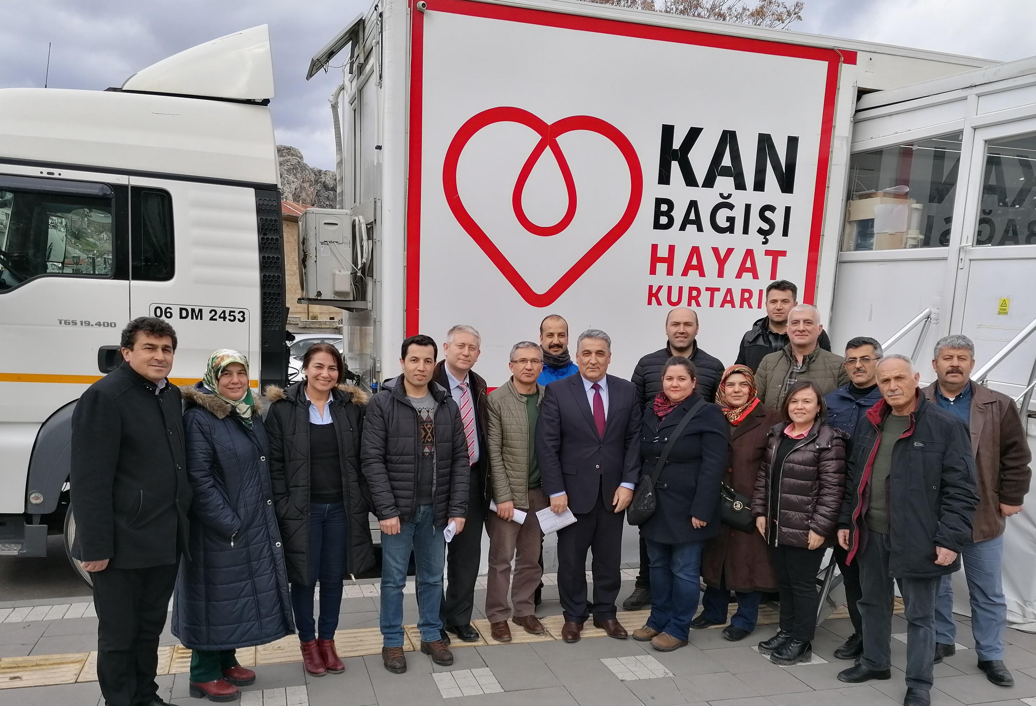 İl Müdürlüğümüzden Türk Kızılay' a Kan Bağışı