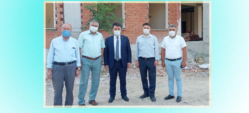 İl Müdürümüz Sayın Ahmet Özkan KAYA, İnşaatı Devam Etmekte olan İl Müftülüğü Hizmet Binasında incelemelerde bulundu.