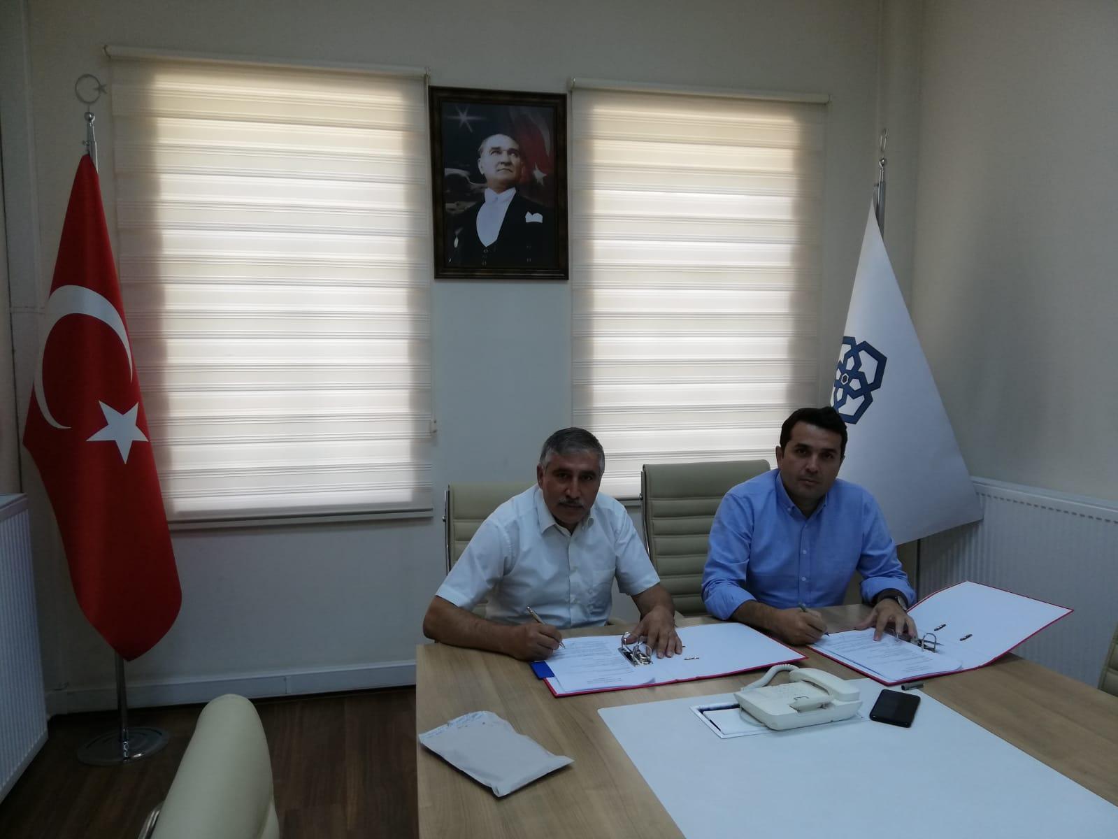 Oka İle Teknik Destek Proje Sözleşmesi İmzalandı.