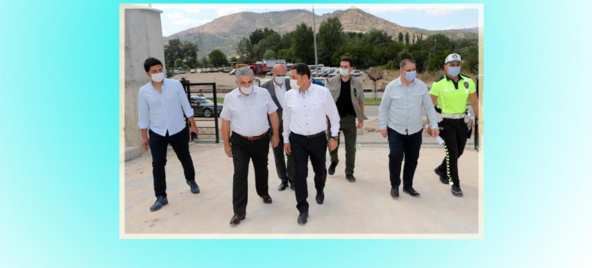 Sayın Valimiz Mustafa MASATLI Bölge Trafik Denetleme İstasyonu İnceledi.