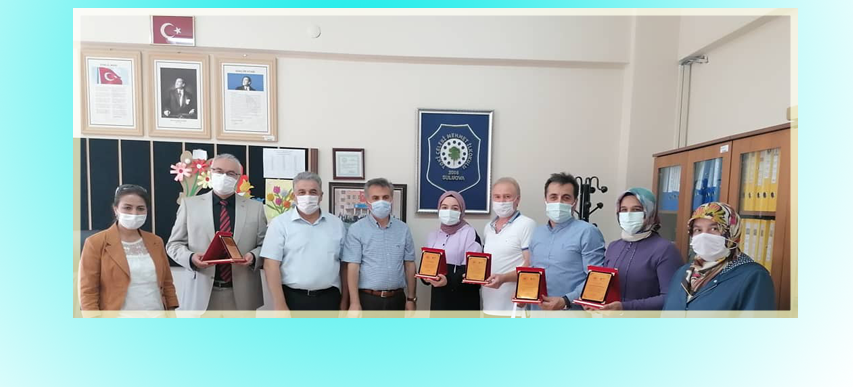 Sıfır Atık Projesine Destek Veren Toki Ç.Mehmet İlkokulu'na Plaket